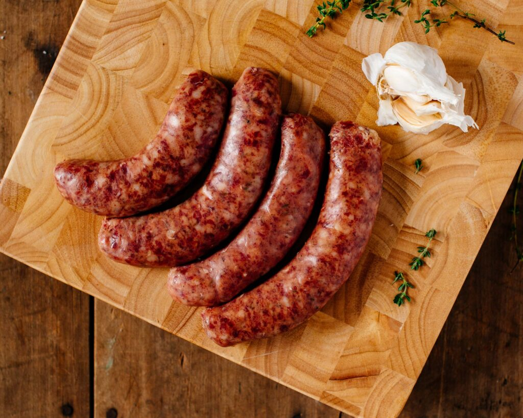 how to cook raw andouille sausage
