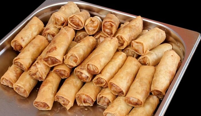 how to reheat egg rolls
