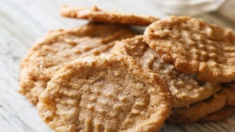 peanut butter cookies without brown sugar battersby